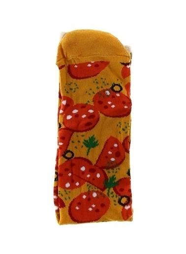 Socks+Stuff Socks&Stuff 20-212101 Turuncu Erkek Çorap Oranj